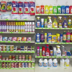 Chemicals & Cleaning Items